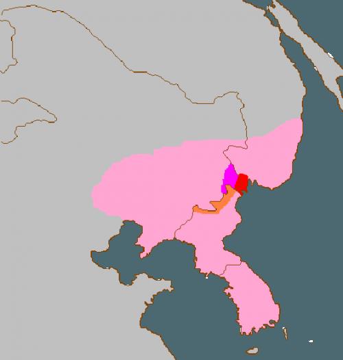 амурский леопард, ареал, карта