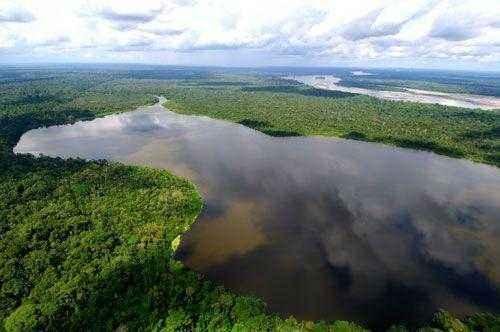 Река Амазонка в Эквадоре