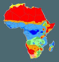 карта-климата-Африки
