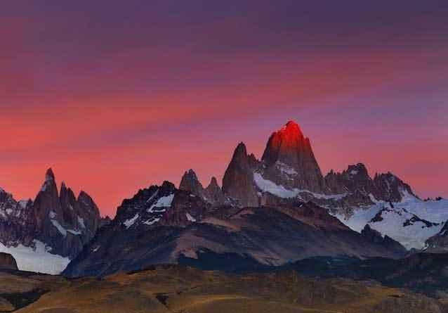 Национальный-парк-Лос-Гласьярес,-Санта-Крус,-Аргентина