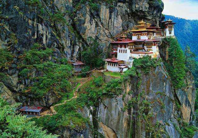 фото-Такцанг-лакханг,-Бутан