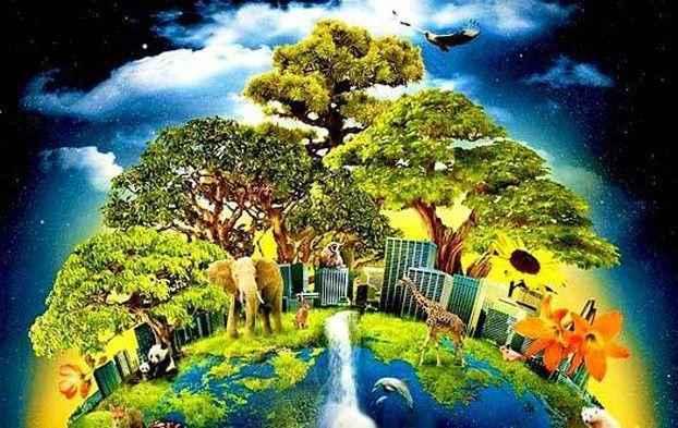 Основные сферы планеты Земля: литосфера, гидросфера, биосфера и атмосфера 4