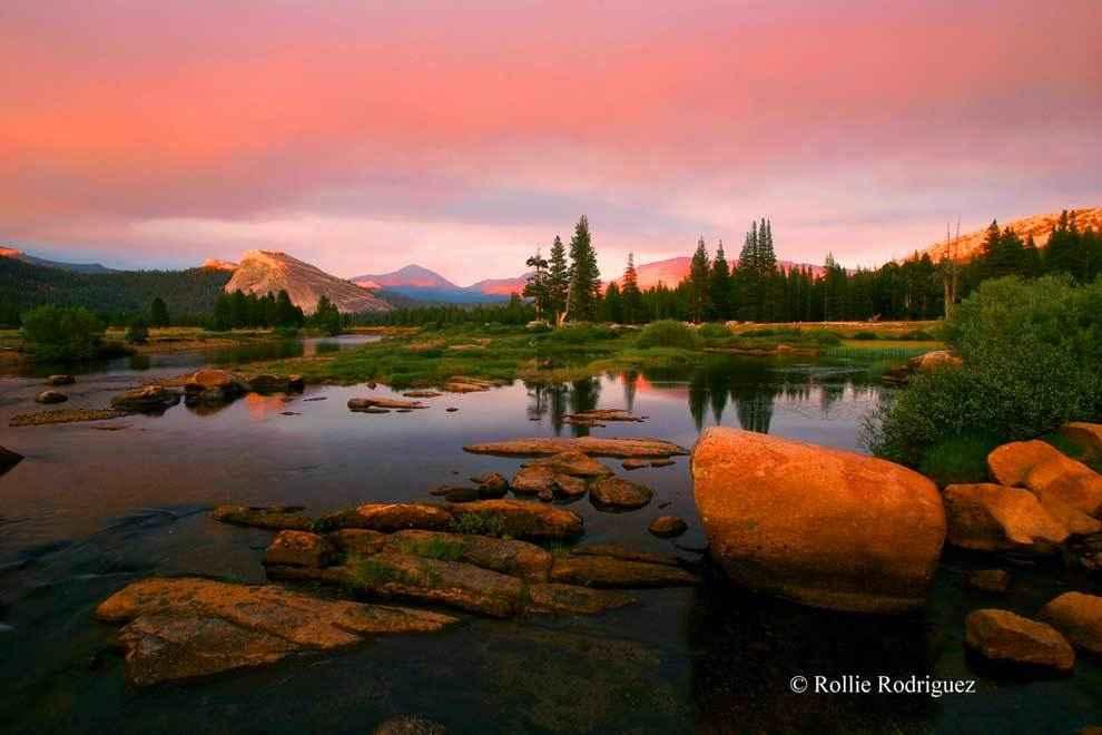 закат-в-Национальном-парке-Йосемити
