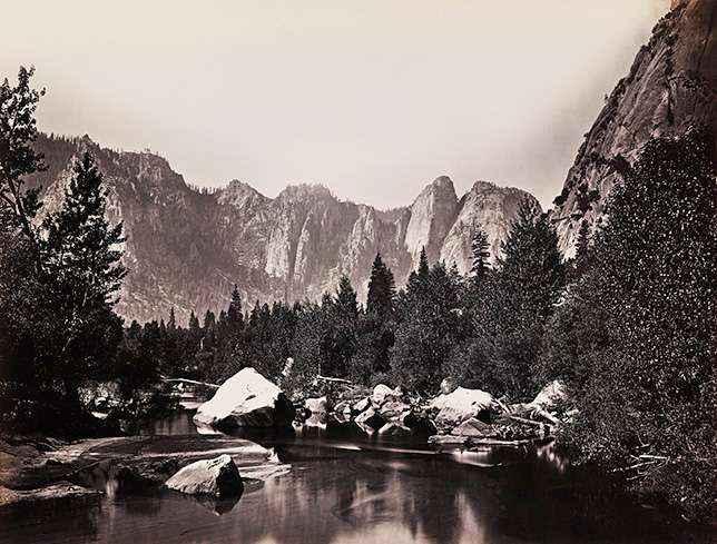 13-carleton-watkins-yosemite-merced-river