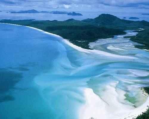 Уайтхэвен-Бич, Остров Уитсандей