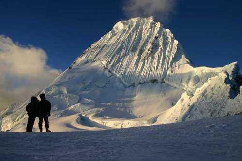 Самые красивые горы в мире - Алпамайо