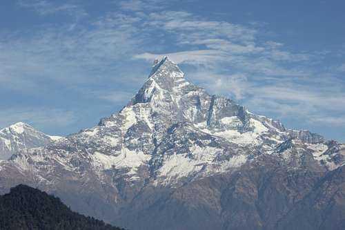 Самые красивые горы в мире - Мачапучаре