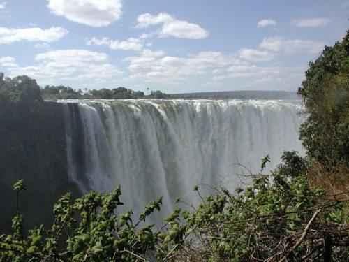 ТОП 10 самых больших водопадов в мире - Водопад Виктория