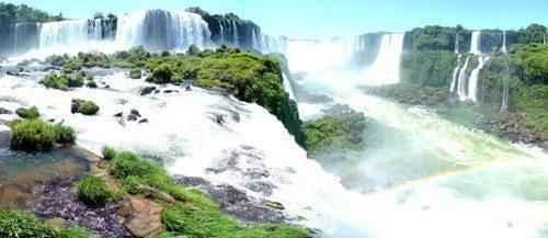 ТОП 10 самых больших водопадов в мире - Водопад Игуасу
