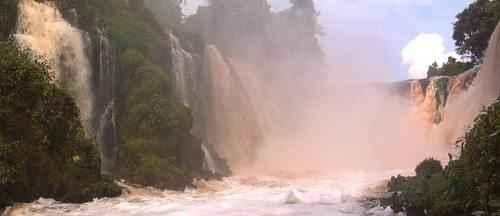 ТОП 10 самых больших водопадов в мире - Водопад Конго