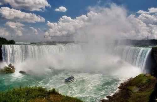 ТОП 10 самых больших водопадов в мире - Ниагарский водопад