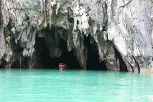 чудеса природы - Подземная река в Пуэрто Принцессе