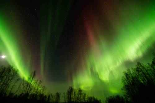 чудеса природы - северное сияние