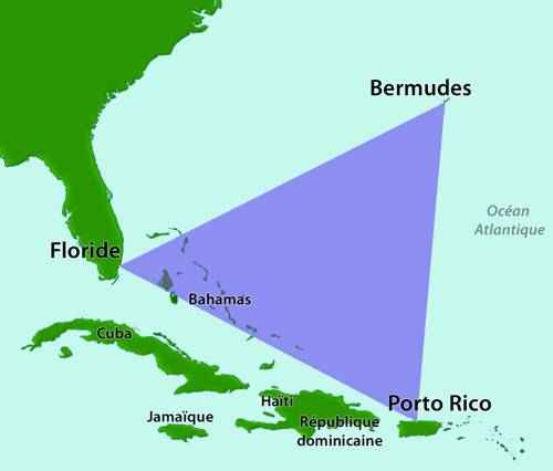 явления природы - Бермудский треугольник