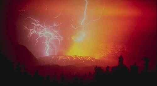 явления природы - Вулканический свет