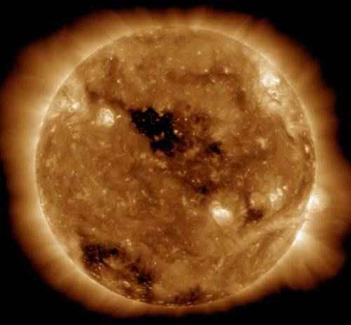явления природы - Солнечная корона