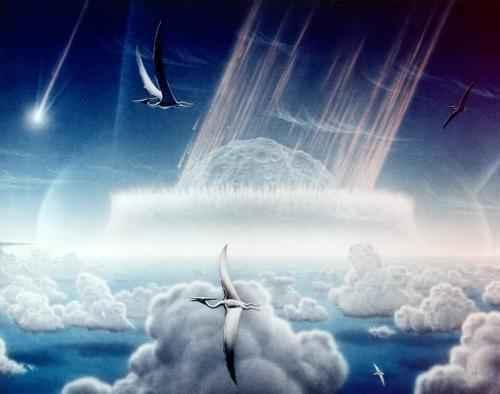 К Т массовое вымирание динозавров