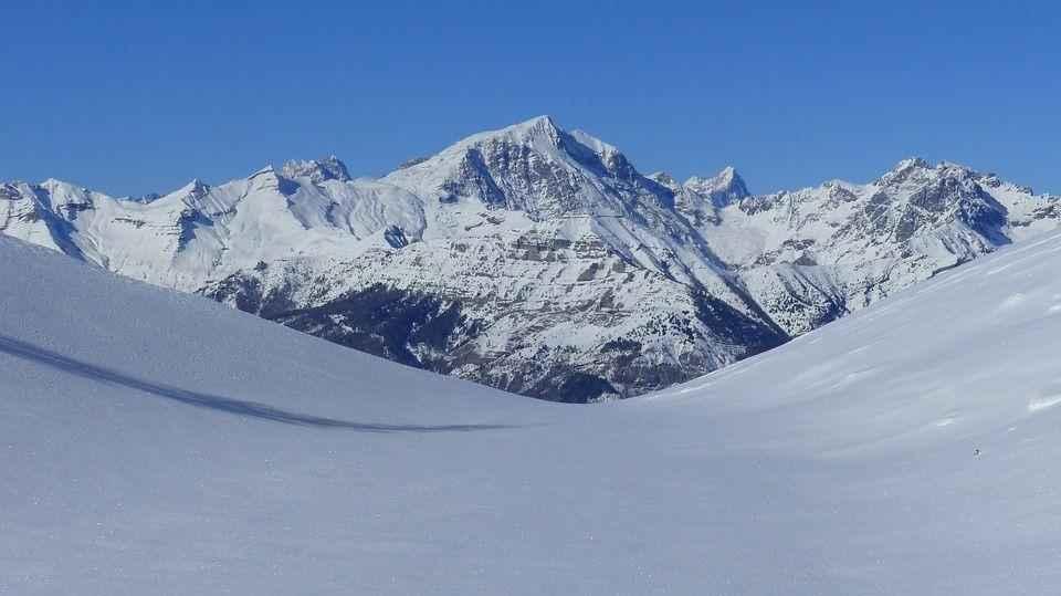 снежная гора