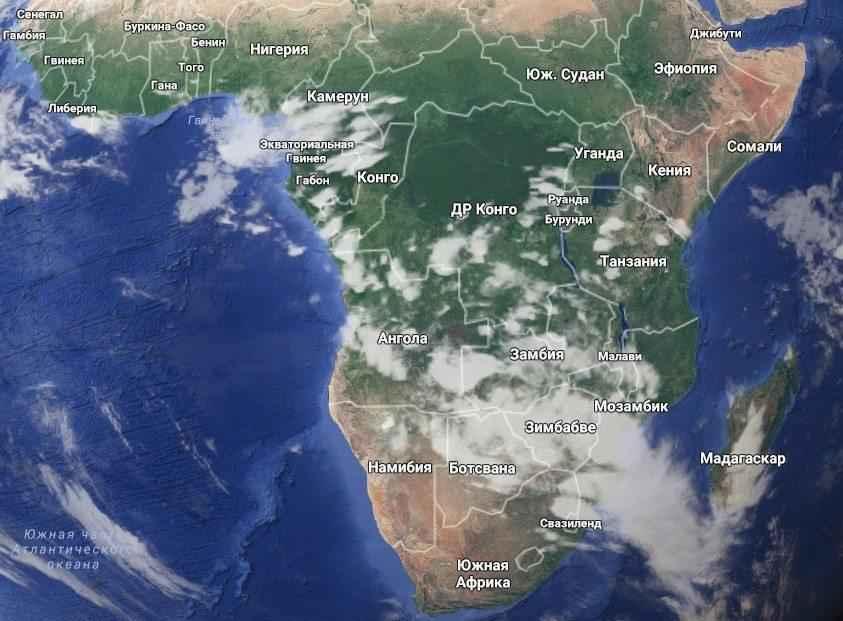 Экозоны, царства или биогеографические зоны Земли 3