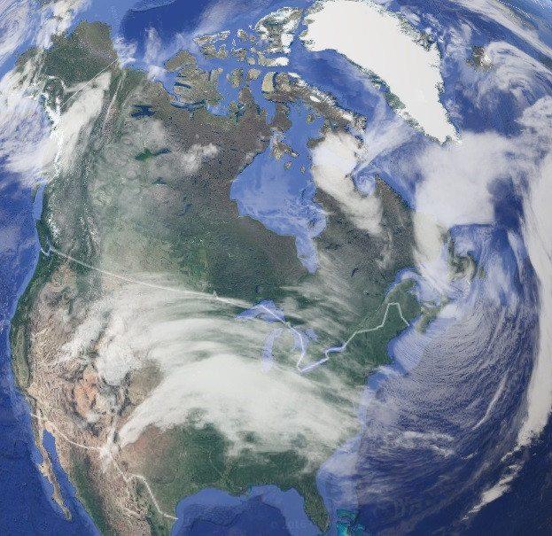 Экозоны, царства или биогеографические зоны Земли 5