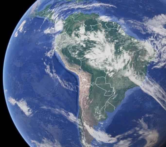 Экозоны, царства или биогеографические зоны Земли 6