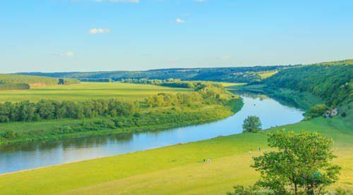 Какие реки самые большие в Европе - список, характеристика и фото 7