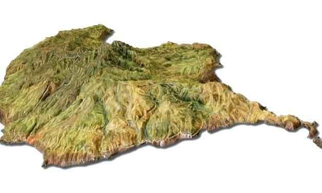 Рельеф земной поверхности или топографический рельеф || Класс Обратный рельеф в рукодельной энциклопедии Pro100hobbi