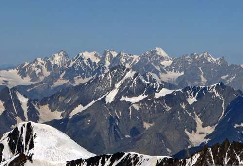 Высочайшие горы на территории России 9