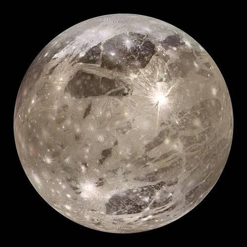 Самые большие спутники планет в Солнечной системе 2