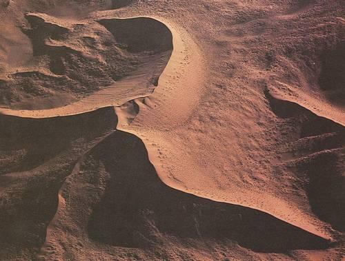 Основные формы песчаных дюн 2