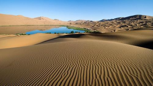 Основные формы песчаных дюн 3