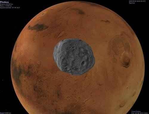 Спутники Марса: история открытия, исследования, характеристика и фото 3