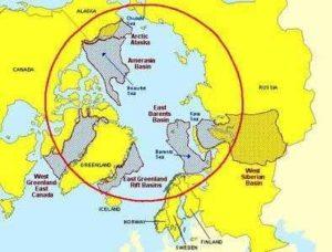 Какие континенты и государства пересекает Северный полярный круг? 2