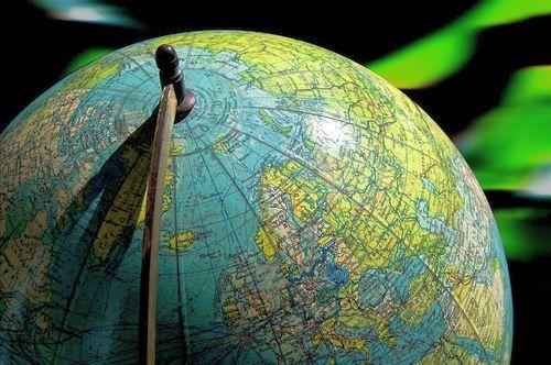Географический и магнитный Северный полюс Земли 2