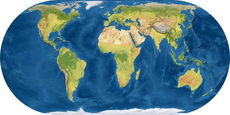 Сколько материков на Земле и их названия