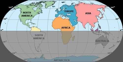 Северное полушарие Земли: характеристика, материки, океаны, климат и население 2