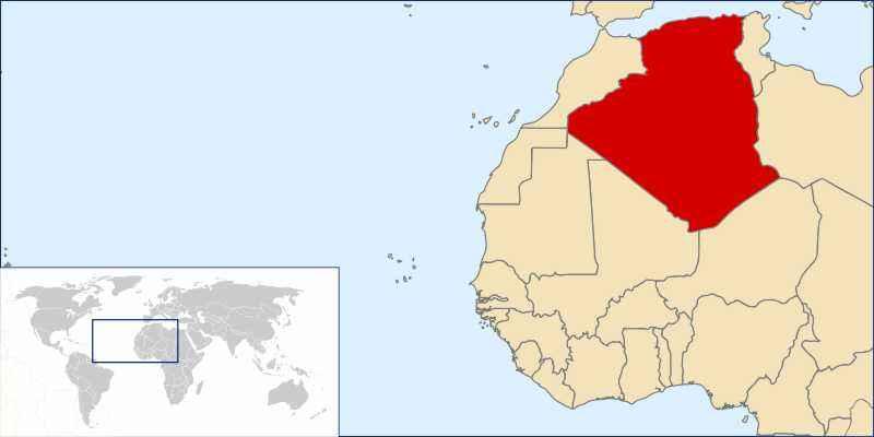 ТОП 10 самых больших по площади стран Африки - краткое описание и карта 11