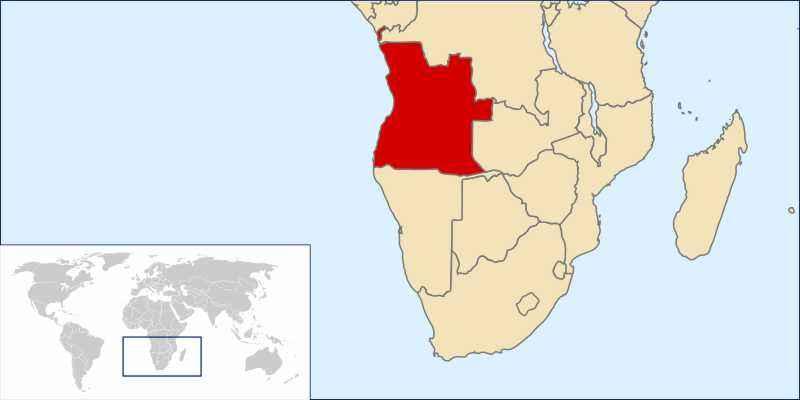 ТОП 10 самых больших по площади стран Африки - краткое описание и карта 5