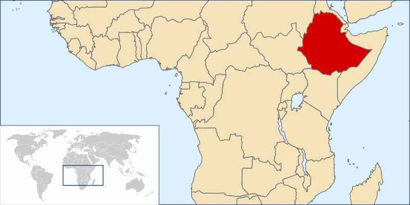 ТОП 10 самых больших по площади стран Африки - краткое описание и карта 2