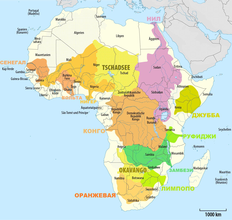 ТОП 10: самые длинные реки Африки - расположение, краткое описание и фото 2