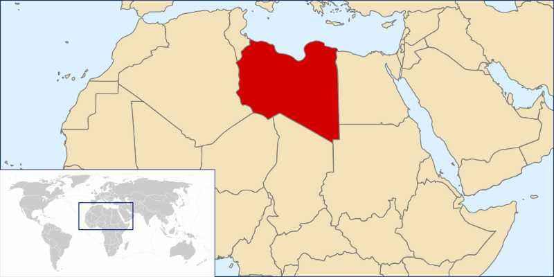 ТОП 10 самых больших по площади стран Африки - краткое описание и карта 8