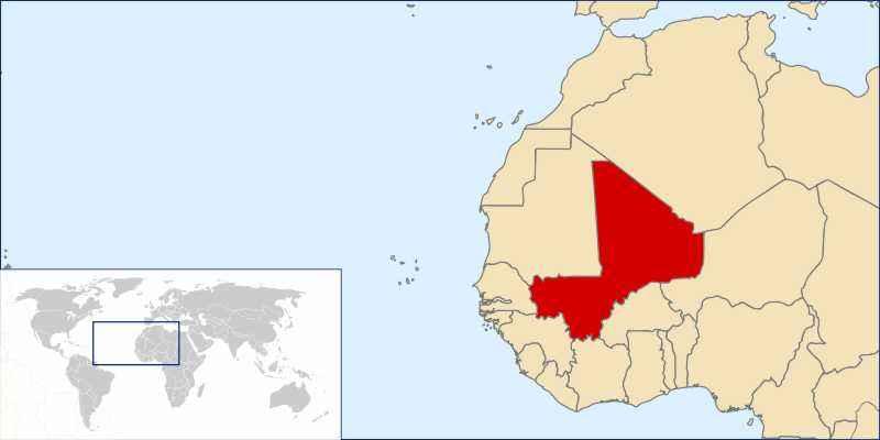 ТОП 10 самых больших по площади стран Африки - краткое описание и карта 4