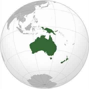 География Океании: характеристика региона, климат, животные, растения, население и страны 2
