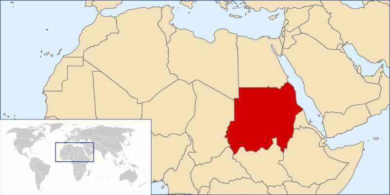 ТОП 10 самых больших по площади стран Африки - краткое описание и карта 9
