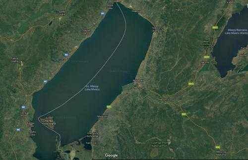 ТОП 10 самых больших озер Африки - названия, фото, площадь, размеры, глубина и расположение 5