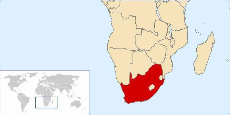 ТОП 10 самых больших по площади стран Африки - краткое описание и карта 3
