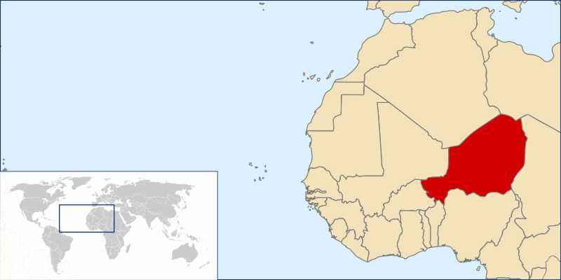 ТОП 10 самых больших по площади стран Африки - краткое описание и карта 6