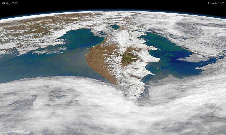 Самые большие полуострова планеты Земля ( ФОТО)