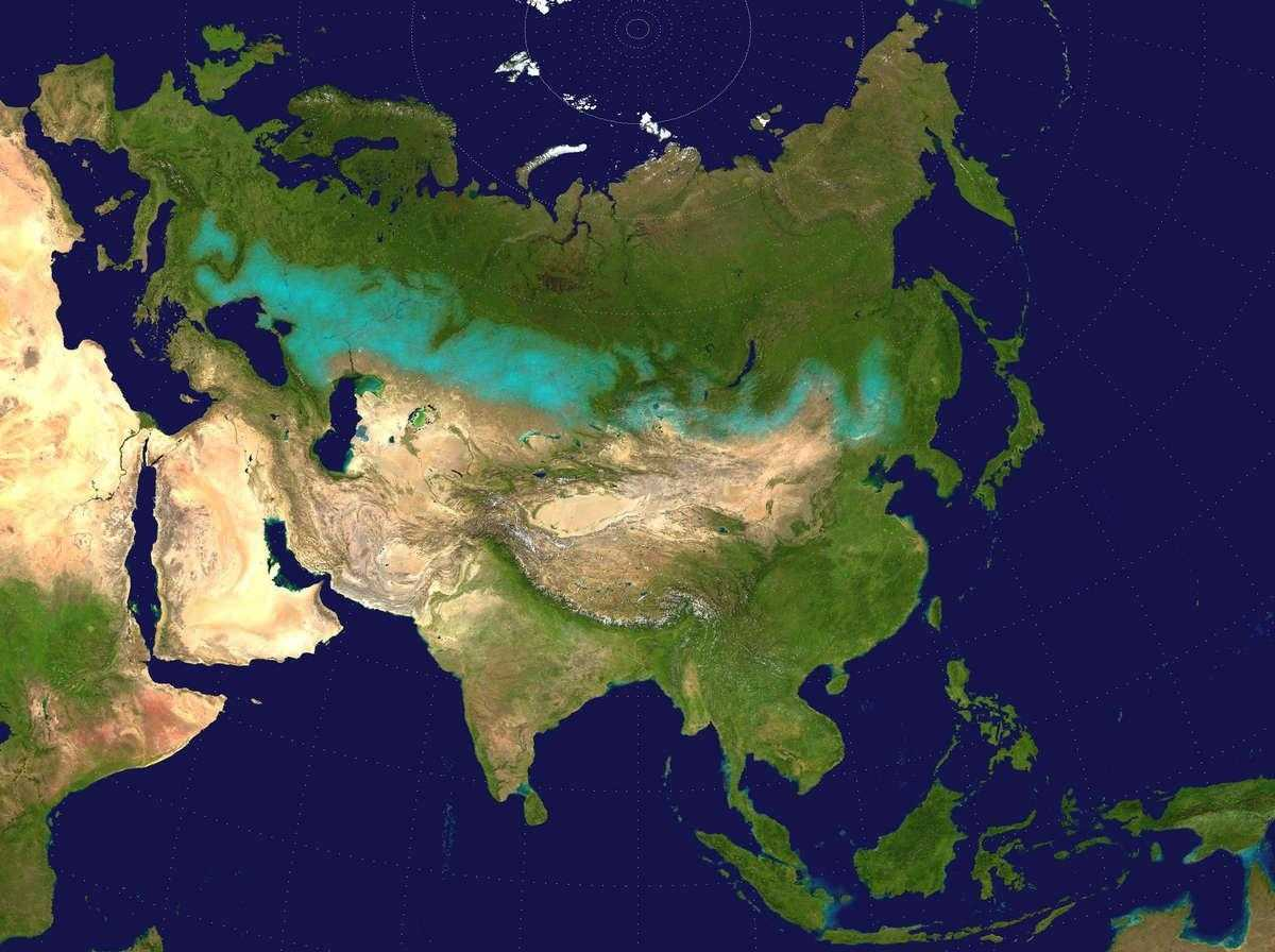 Зона степей России- расположение, карта, природные условия, животные и растения