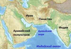 ТОП 10 крупнейших полуостровов на Земле - названия, карты и характеристика 11